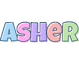 Asher pastel logo