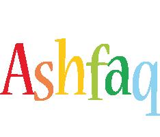 Ashfaq birthday logo