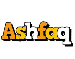 Ashfaq cartoon logo