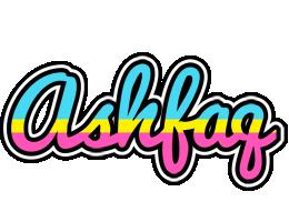 Ashfaq circus logo