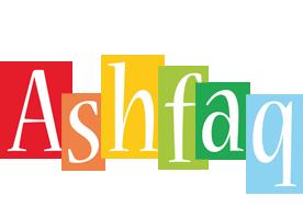 Ashfaq colors logo