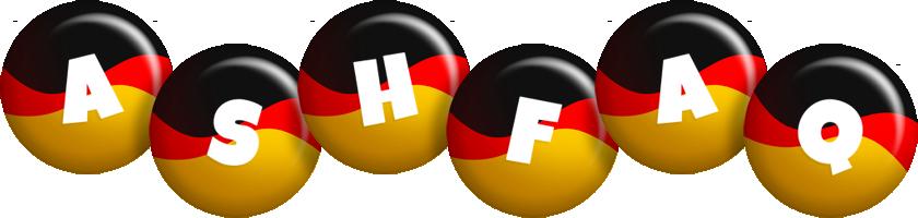 Ashfaq german logo