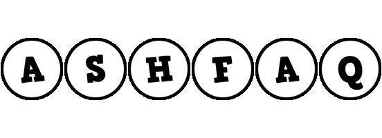 Ashfaq handy logo