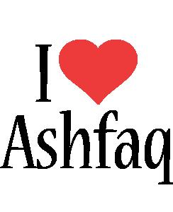 Ashfaq i-love logo