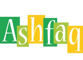 Ashfaq lemonade logo
