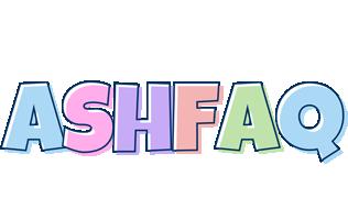 Ashfaq pastel logo