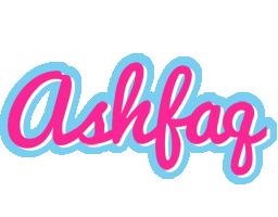 Ashfaq popstar logo