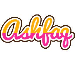 Ashfaq smoothie logo