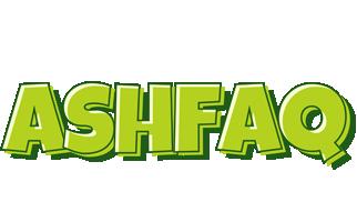Ashfaq summer logo