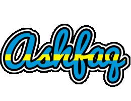 Ashfaq sweden logo