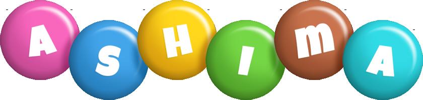 Ashima candy logo