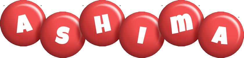 Ashima candy-red logo