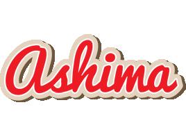 Ashima chocolate logo