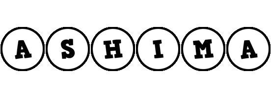 Ashima handy logo