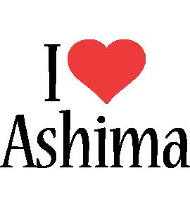 Ashima i-love logo
