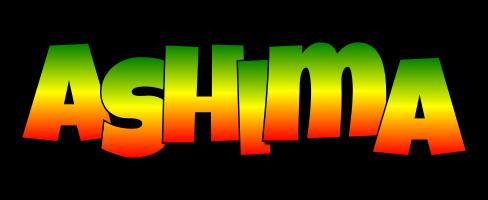 Ashima mango logo