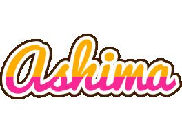 Ashima smoothie logo