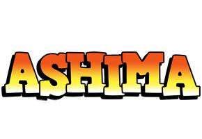 Ashima sunset logo