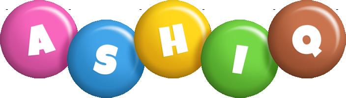 Ashiq candy logo