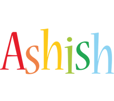 Ashish birthday logo