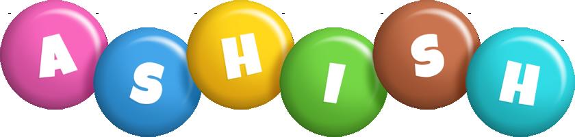Ashish candy logo
