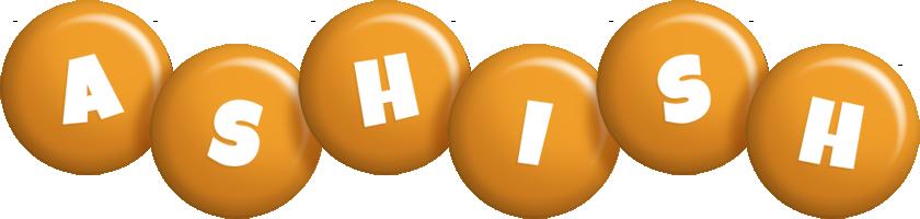 Ashish candy-orange logo