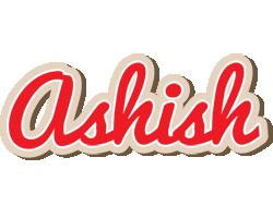 Ashish chocolate logo