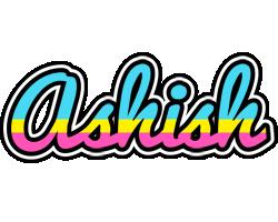 Ashish circus logo