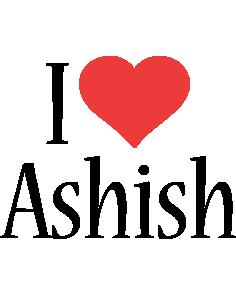 Ashish i-love logo
