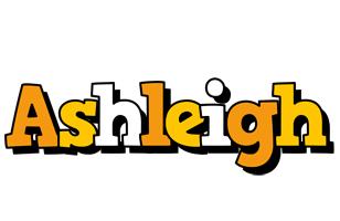Ashleigh cartoon logo