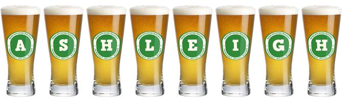 Ashleigh lager logo