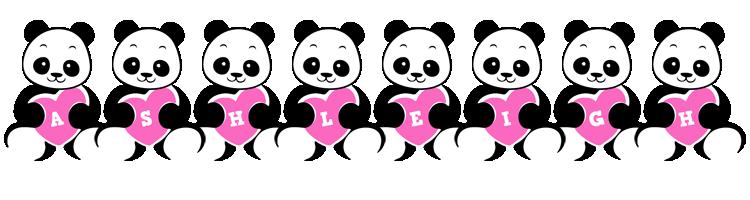 Ashleigh love-panda logo