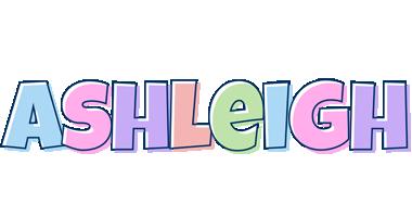 Ashleigh pastel logo