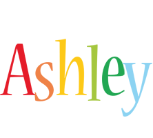 Ashley birthday logo
