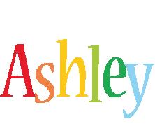 Ashley birthday logo