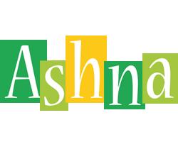 Ashna lemonade logo