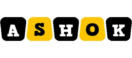 Ashok boots logo