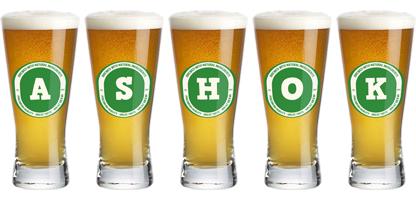 Ashok lager logo