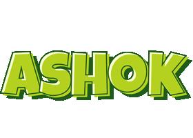 Ashok Logo Name Logo Generator Smoothie Summer Birthday Kiddo