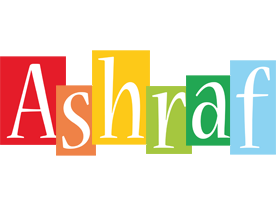 Ashraf colors logo