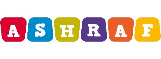 Ashraf kiddo logo