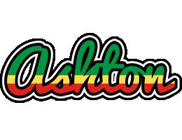 Ashton african logo