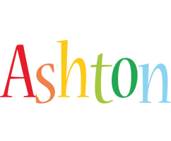 Ashton birthday logo