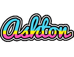 Ashton circus logo