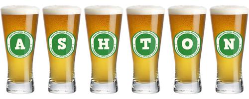 Ashton lager logo