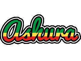 Ashura african logo