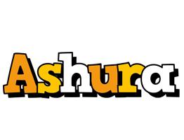 Ashura cartoon logo