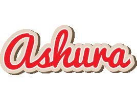 Ashura chocolate logo