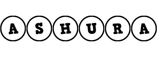 Ashura handy logo