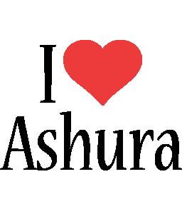 Ashura i-love logo
